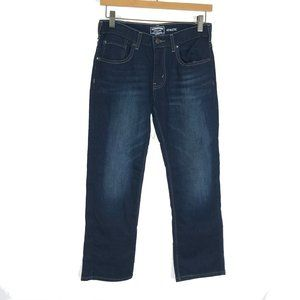 NWT $40 Boys Chaps Dark Blue Slim Fit Premium Denim Jeans Size 14 ~Very Nice!